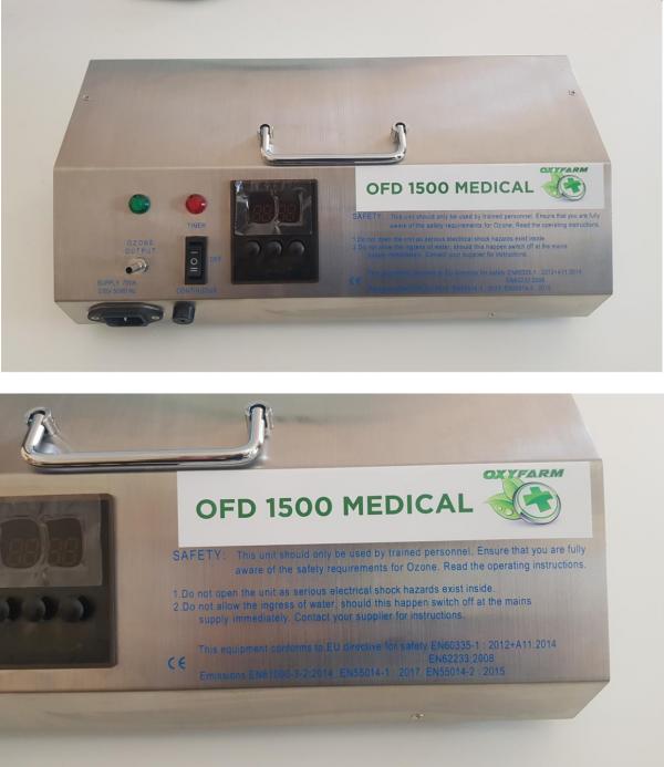 OFD 1500 Ozonizzatore per grandi Ambienti 150 mq.