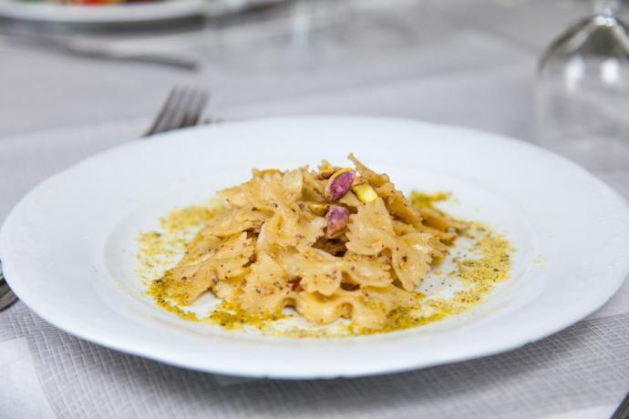 Piatto di pasta tipico
