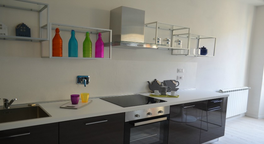 Cucina attrezzata in appartamento a Perugia