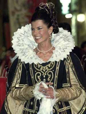 Federica Moro, testimonial della Quintana di Folig