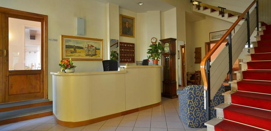 Reception hotel ristorante in Valdarno vicino Firenze