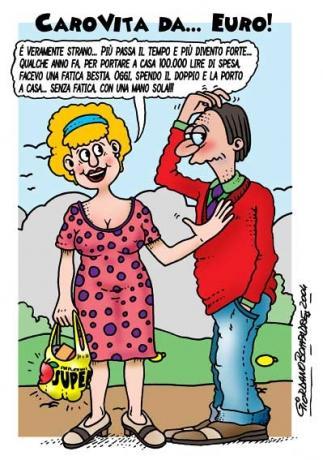 Vignetta   Carovita   Umorismo   Fumetti   Satira
