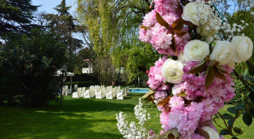 giardino ideale per eventi in hotel Padova Veneto