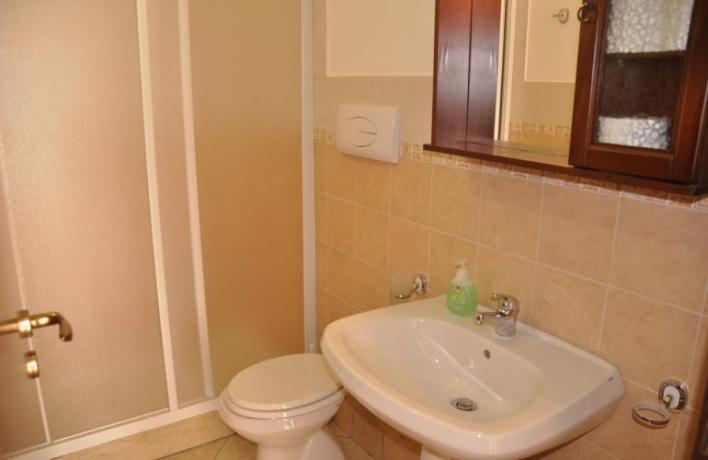 Vacanze a San-Vito-lo-Capo appartamento vacanze con doccia