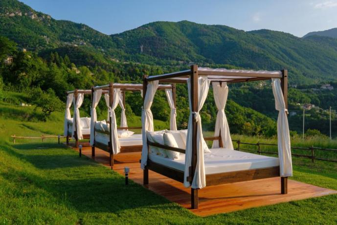 Hotel ideale per relax con vista Lago Garda