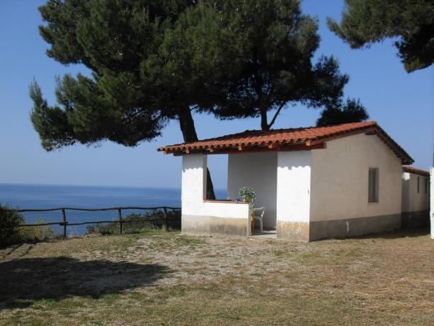 bungalow in Villaggio con accesso diretto al mare