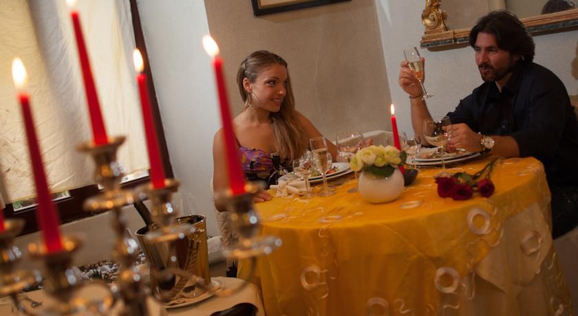 Cena Romantica al ristorante interno