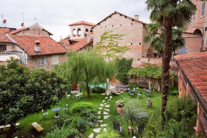 Splendido giardino del B&B