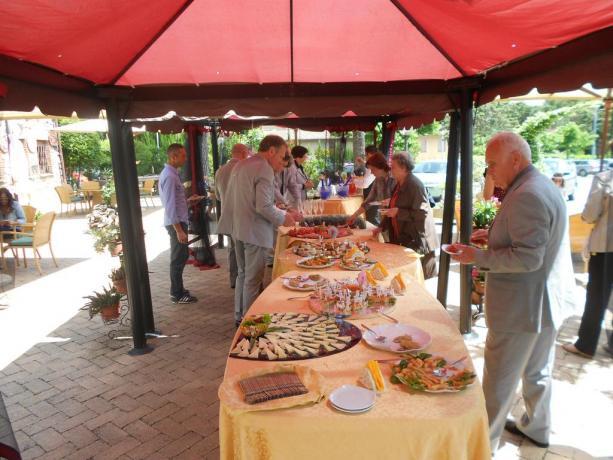 Buffet antipasto hotel a Chiusi