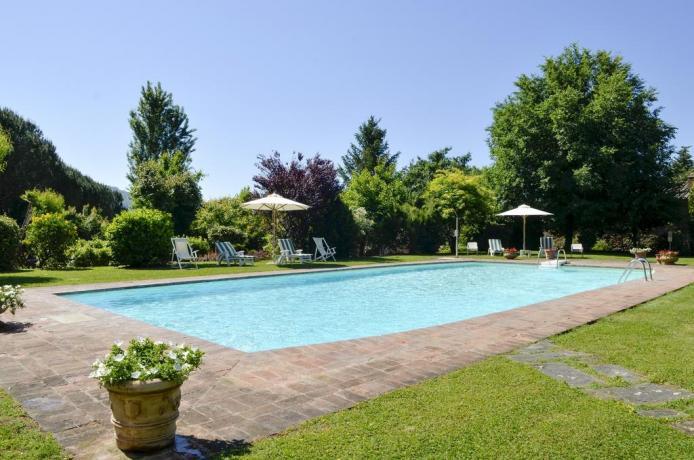 Appartamento con Piscina a Cortona