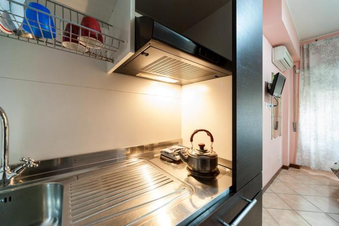Appartamento vicino Musei Vaticani con cucina