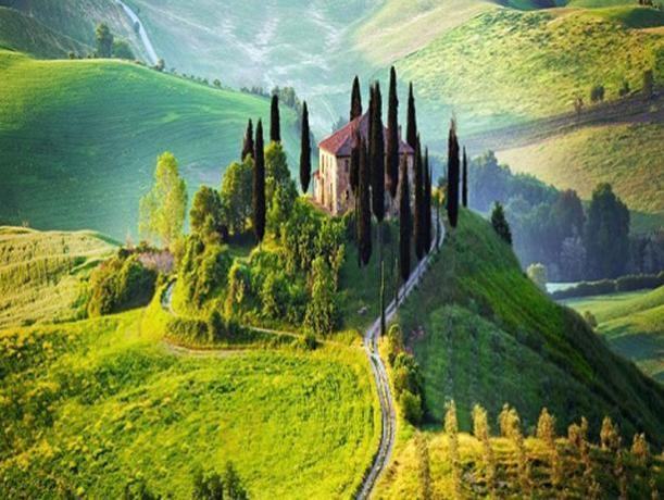 Valdarno: collina Toscana vicino il nostro hotel