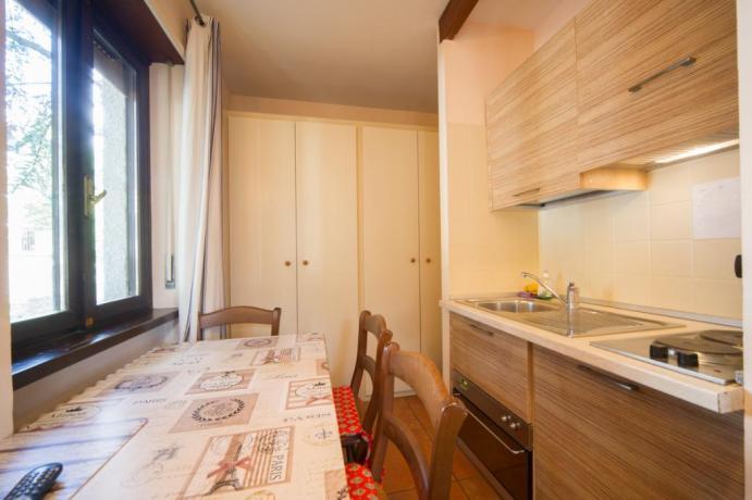 Appartamento-vacanze monolocale con castello 4persone Bardonecchia