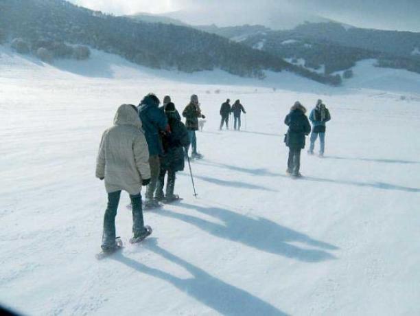 Hotel Norcia ideale per Ciaspolata sulla neve