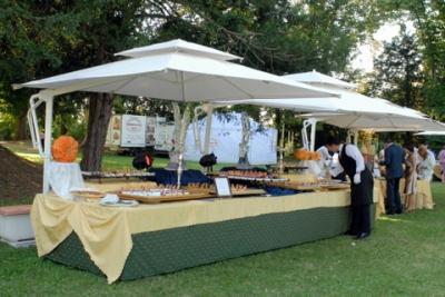 Gazebo vendita prezzo ingrosso per servizi catering Gazebo e Ombrelloni da Giardino ...
