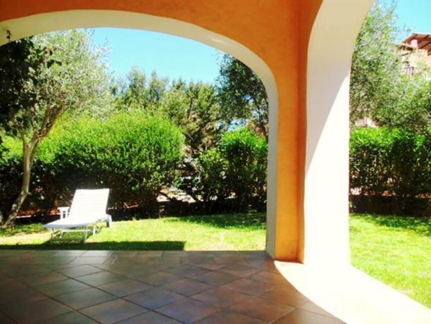 Residence**** con solarium in giardino ad Arzachena
