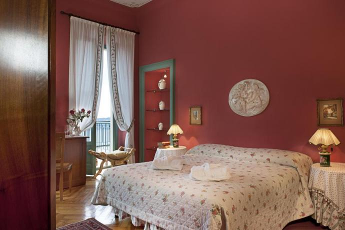 Suite con balcone vista Lago di Garda