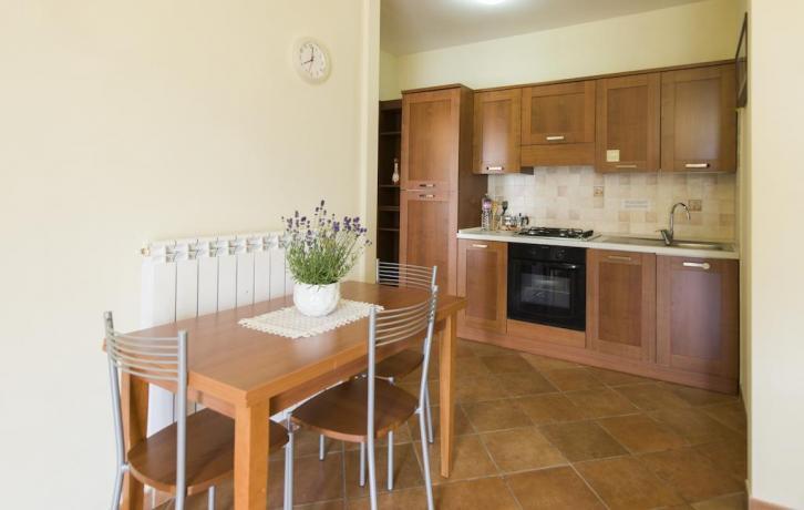 Bilocale 3 posti letto residence Ronciglione