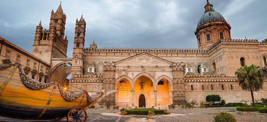 Albergo 4 stelle pochi metri Cattedrale di Palermo