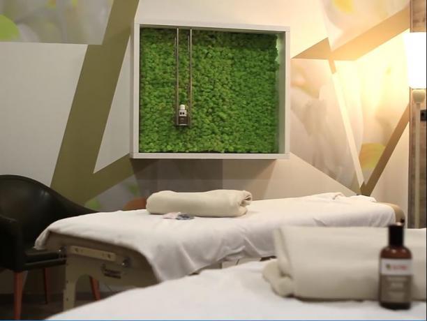 Sala Massaggi e trattamenti benessere