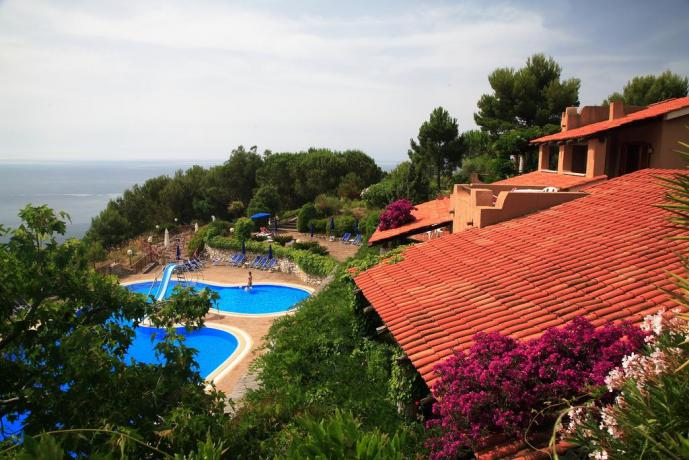 Residence con piscine Private a Palinuro