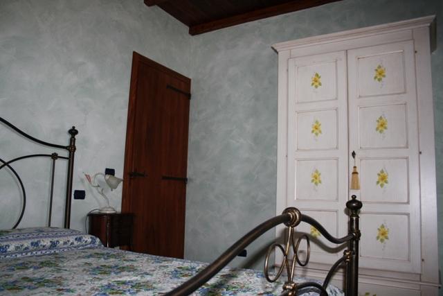 Camera matrimoniale dell'appartamento il Nocio
