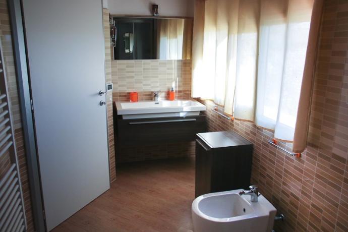 suite guttuso bagno con vasca idromassaggio