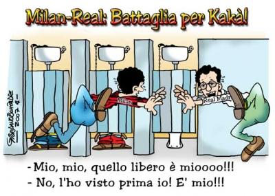 Vignetta   Kakà   Milan   Fumetti   Umorismo