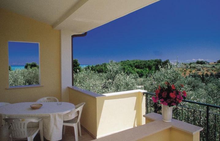 Appartamenti con Terrazzo vista Mare del Gargano
