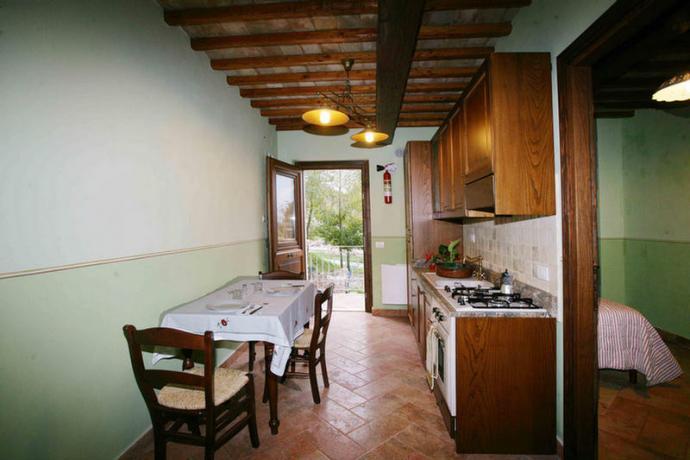 Appartamenti con cucina e camere a Foligno