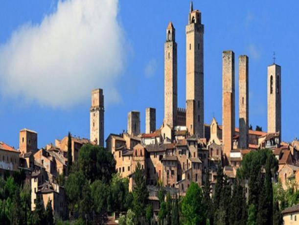 Hotel ideale per escursione a San Gimignano