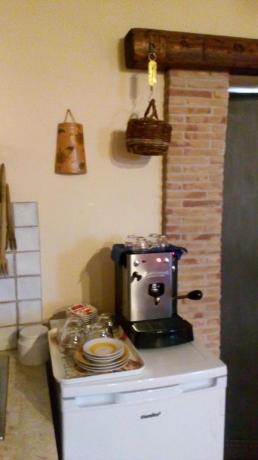 Appartamento in B&B a Gaeta cucina attrezzata