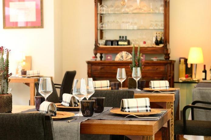 Ristorante ad Assisi nell'Hotel Suite SPA