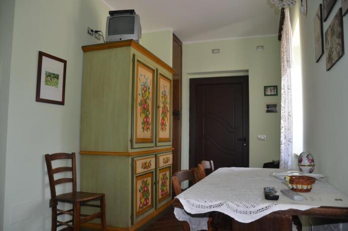 Entrata appartamento con mobili nuovi