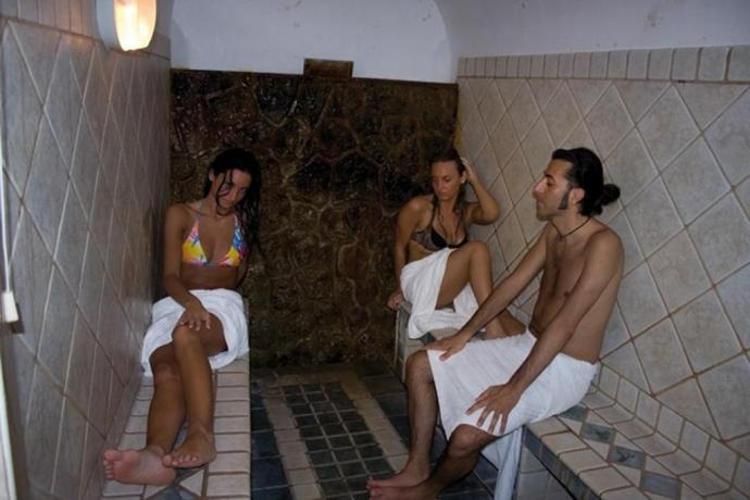 Sauna all'hotel di Ischia porto