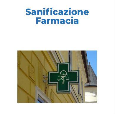 Sanificazione e Disinfezione Certificata COVID-19: FARMACIA Roma