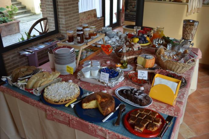 colazioni in Agriturismo e B&B in Umbria