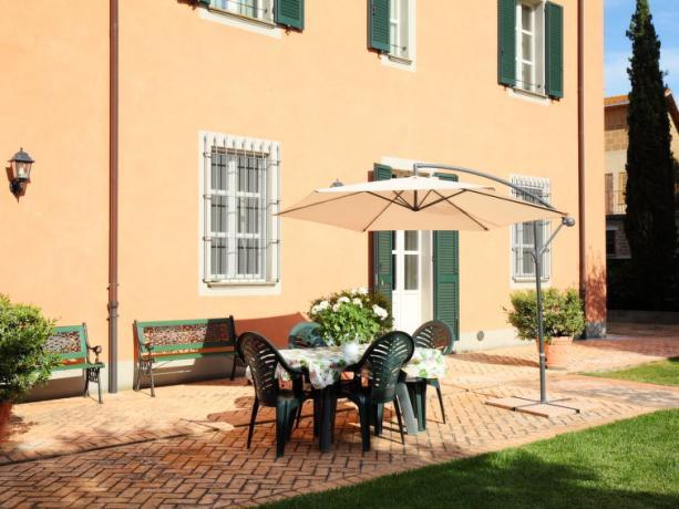 Esterno Villa Vacanze a Bettona