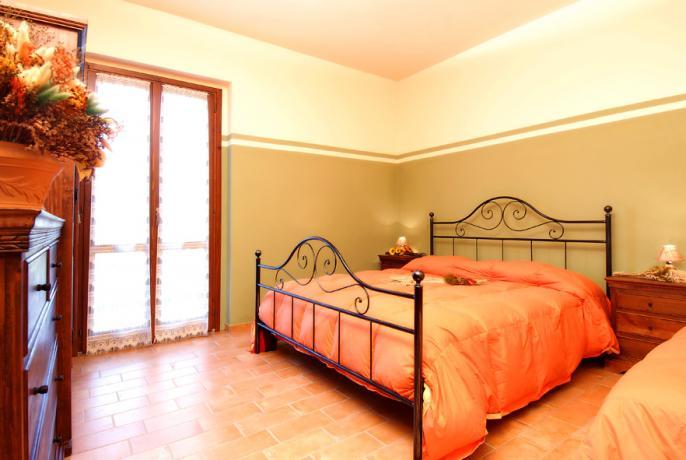 Camera da letto Casale il Mulino