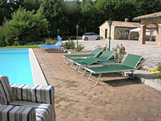 Appartamento vacanza per famiglie con piscina a Perugia