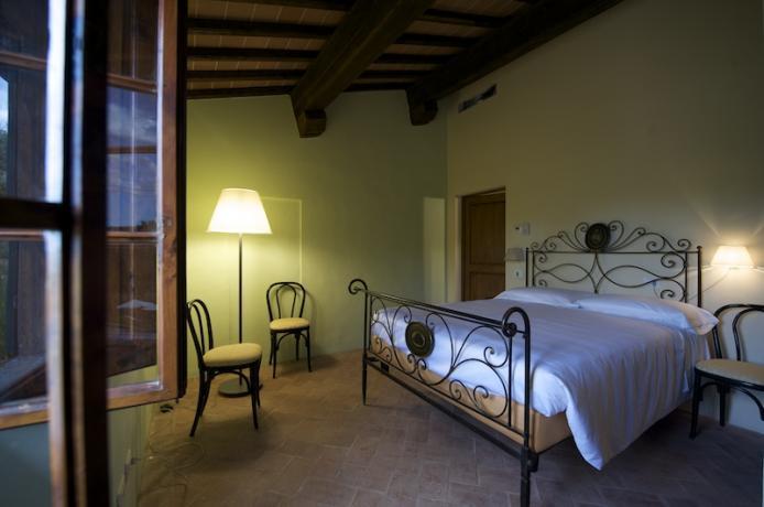Appartamento Frantoio - Camera matrimoniale con bagno privato