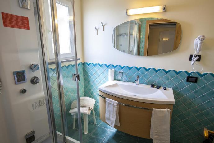 Bagno in camera privato Hotel Superior Ischia