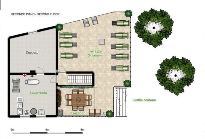 Grande casa per famiglie e gruppi