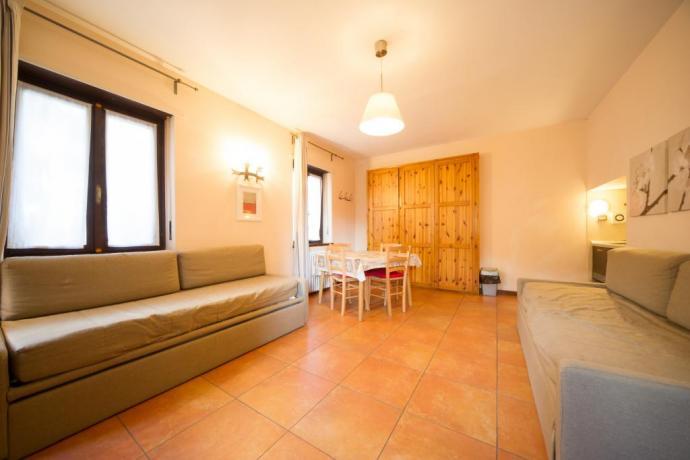 Appartamenti-vacanze monolocale-classico Bardonecchia divani letto 4persone