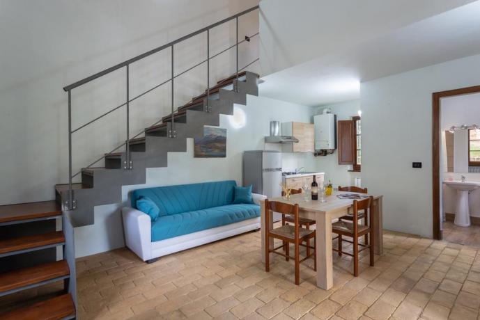 Appartamento con soppalco con Bagno Privato