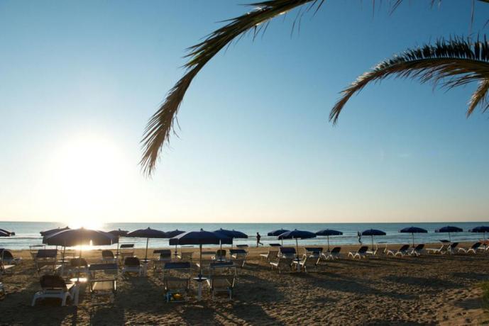 Una bellissima vista mare della Puglia