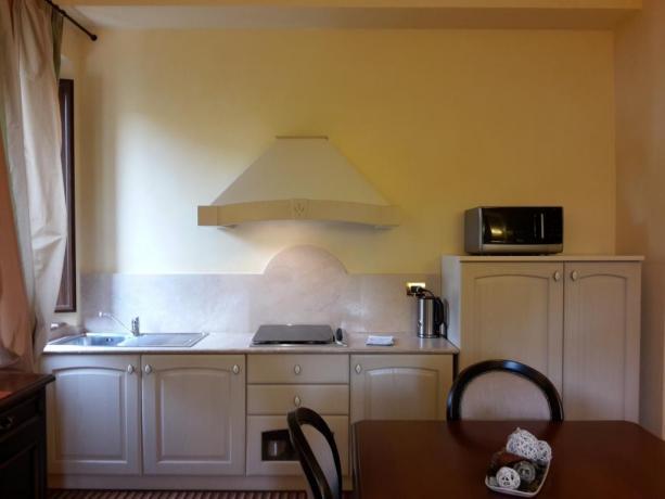 cucina camera Hotel il Castello
