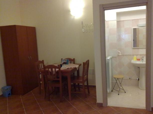 Bagno delle camere matrimoniali, B&B a Cosenza