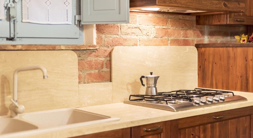 Cucina Appartamento vicino Valdichiana in Agriturismo