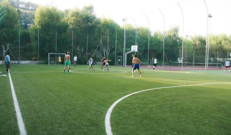 Campetto polivalente calcio-tennis
